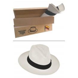 Classic Semi Thin White-straw 100 + Wood Box Packing wood